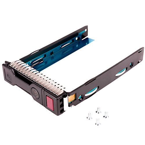 WALI LFF SAS SATA HDD Tray Caddy for HP 651314-001 651320-001 Gen8 Gen9 3.5 LFF Drive Tray DL380P DL360P DL160 DL560 DL385 G8 Exclusively