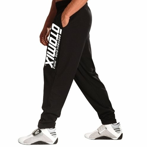 Otomix Men's Logo Black Baggy Workout Pants (X-Large)