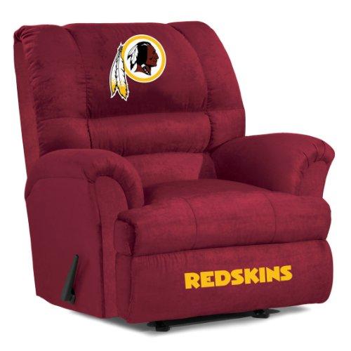 UPC 720801401164, Imperial Officially Licensed NFL Furniture: Big Daddy Microfiber Rocker Recliner, Washington Redskins