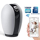 Ssnwrn Baby Monitor 1080P WiFi IP Camera with Infrared Night Vision, Home Security Surveillance Camera for Baby/Elder/ Pet/Nanny Monitor, Pan/Tilt, Two-Way Audio[Upgraded Version] Review