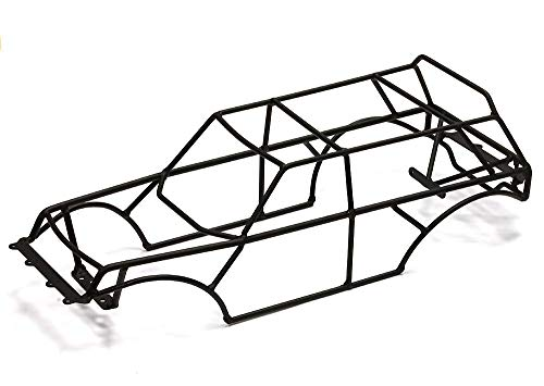Integy RC Model Hop-ups C24695BLACK Steel Roll Cage for Traxxas 1/10 2WD Monster Jam Series