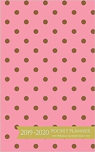 Best Seller List 2020 2019 2020 Pocket Planner Weekly and Monthly: Polka Dots Calendar