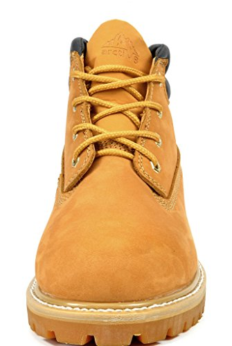 Work Men's arctiv8 Leather Grain Boots Wheat Full HxaIdIqFn0