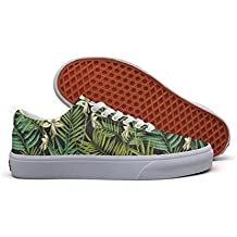 Elegant Hawaiian With Exotic Palm Women's Casual Sneakers Canvas Slip On Spring Trainers