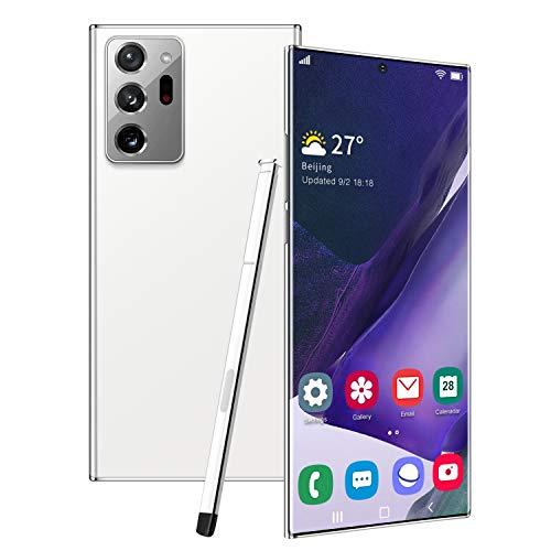 Note20U+ Smartphone, Cell Phone 12GB RAM+512GB ROM 5000mAh, Dual SIM 6.9 inch HD Display,Android 10.0 Face ID