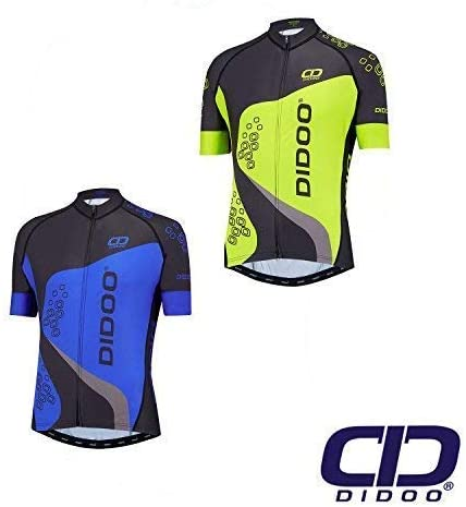 Didoo Men/'s Cycling Jerseys Breathable Short Sleeve Tops Biking Mountain Summer
