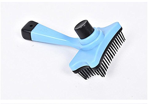 RYS Dog & Cat Brush for Grooming Short or Long Hair Brush for Massage with No Slip Handle Professional Pet Grooming Tools (Dog Tongue Brush compare prices)