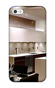 Awesome Modern Eat-in Kitchen With Suspended Ceiling Flip Case With Fashion Design For Iphone 5/5s