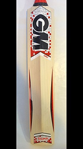 GM English Willow Cricket Bat Full Size With Cover Sigma F2 707 (Short Handle, Sigma F2 Excalibur) by General Motors