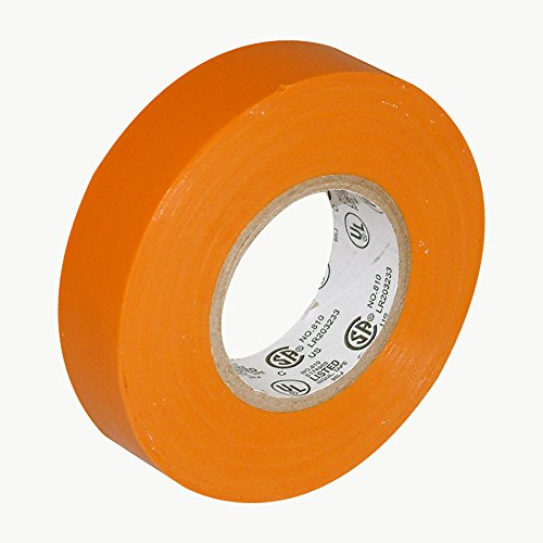 JVCC E-Tape Colored Electrical Tape: 3/4 in. x