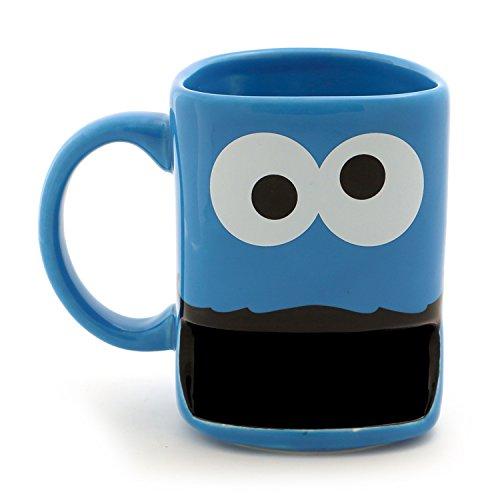 """Enesco 6001062 Our Name Is Mud """"Cookie Monster"""" Sesame Street Mug, 10 oz Cookies Mug"""