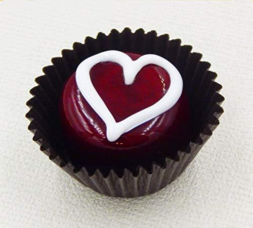 (Sweetheart Glass Chocolate Heart Candy Gift Handmade Home Décor)