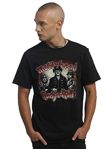 chains Bk shirt Motorhead Amplified Black T Homme black g7x6w