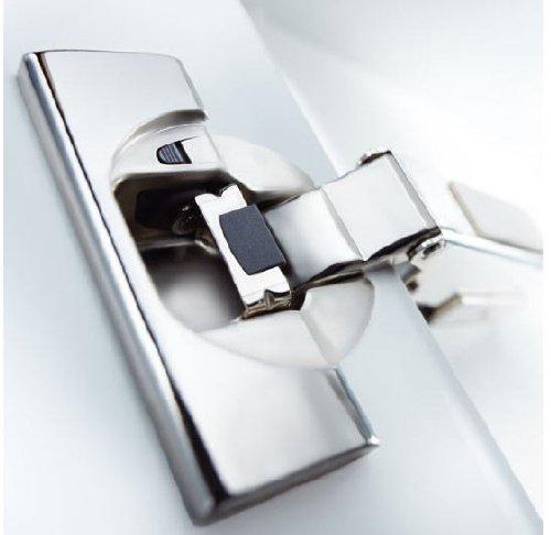 Conjunto de 10: BLUM Clip Top con bisagras de cierre automático 110° con tope de entrada-amortiguación media Incluye sistema-placa de montaje del ala con LNG bachmayer GmbH