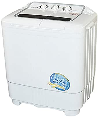 panda small compact portable washing machine 7 9lbs capacity with spin dryer