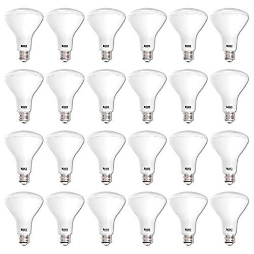 Sunco Lighting 24 Pack BR30 LED Bulb 11W=65W, 4000K Cool White, 850 LM, E26 Base, Dimmable, Indoor Flood Light for Cans - UL & Energy Star