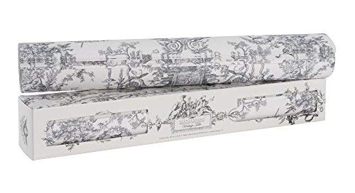 Scentennials Vintage Toile Gray (6 Sheets) Scented Drawer Liners ()
