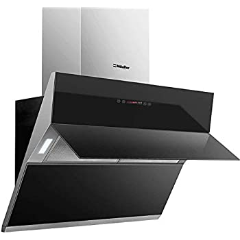 """Unique Design for Under Cabinet or Wall Mount Powerful Motor Rated at 800PA with 42db Noise Level ROBAM A831 30/"""" Range Hood Modern Kitchen Vent Hood Fits 6/"""" Round Duct or Perfect for Ductless"""