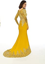 Amazon.com: Yellow - Special Occasion / Dresses: Clothing Shoes ...