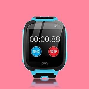 LouiseEvel215 Q9 Reloj Inteligente de Silicona para niños Anti ...