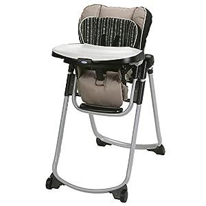 Graco Slim Spaces High Chair   Compact High Chair, Amari