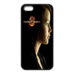 Custom Your Own Unique Movie The Hunger Games iPhone 5 5S Rubber Cover Snap on Hunger Games iPhone 5 5S Rubber Case
