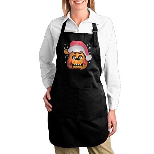 [Cooking Kitchen Bib Aprons Five Nights At Freddys Santa Fazbear Christmas] (Mangle Costume Ideas)
