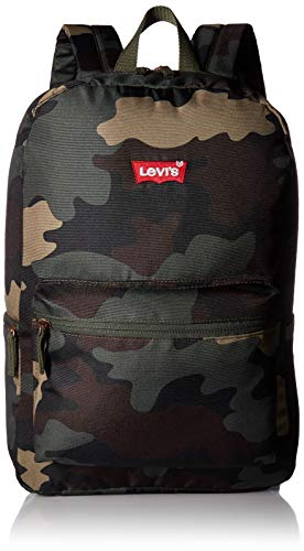 Levi's Kids' Big Classic Logo Backpack, Camo, O/S ()