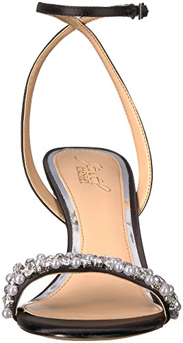 Heeled Mischka Sandal Women's Badgley Theodora Black g1tqdwdx