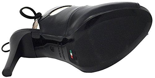 NeroGiardini P717371D Negro, sandalia mujer
