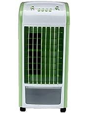 2019 4 En 1 Enfriador,Bloodfin Mecánico Manual Enfriamiento Fresco la Fan Portátil Aire Acondicionado Ventilador Purificador Humidificador, Hogar Refrigerador Purificador Aire con (Blau)