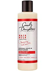 Curly Hair Products by Carol's Daughter, Hair Milk Original Leave In Moisturizer For Curls, Coils and Waves, with Agave and Shea Butter, Hair Moisturizer For Curly Hair, 8 Fl Oz (Packaging May Vary)