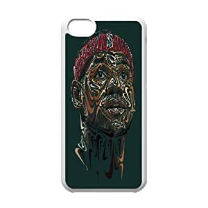 Hard Plastic Cover NBA Cleveland Cavaliers LeBron James Phone Case Protective Case 252 For Iphone 5c At ERZHOU Tech Store