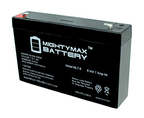 (Mighty Max Battery Ride On Replacement 6V 7AH Battery For Kids Ride On Power Car Wheels brand product)