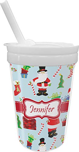(Santas w/Presents Sippy Cup with Straw)