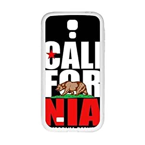 Cool painting california republic t shirt Phone Case for Samsung Galaxy S4