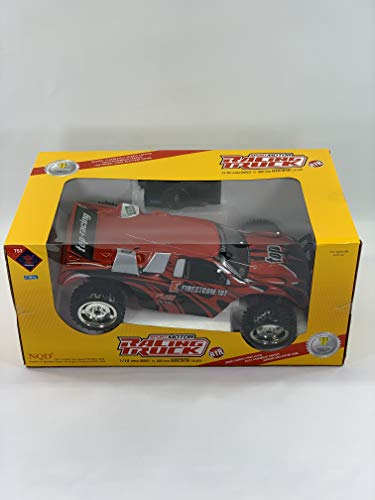 - NEWQIDA 1/10 Sport Motor Racing Truck RTR 2WD Remote Control, RC, Fully Assembled Chassis Battery Included (Colors May Vary)