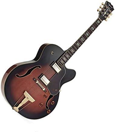 Jazz Guitarra ELECTROACOUSTICA OZARK 3175 con funda para el móvil