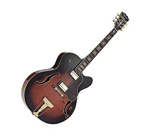 Jazz Guitarra ELECTROACOUSTICA OZARK 3175 con funda para el móvil ...