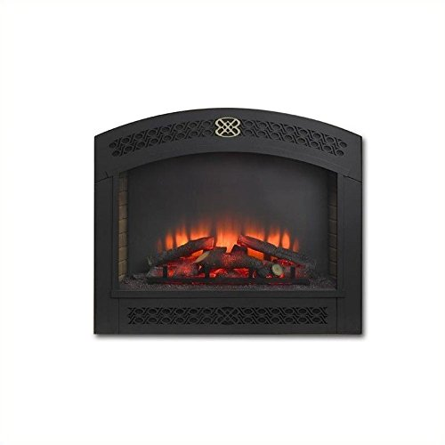 Outdoor GreatRoom Company Full Arch Electric Fireplace Front