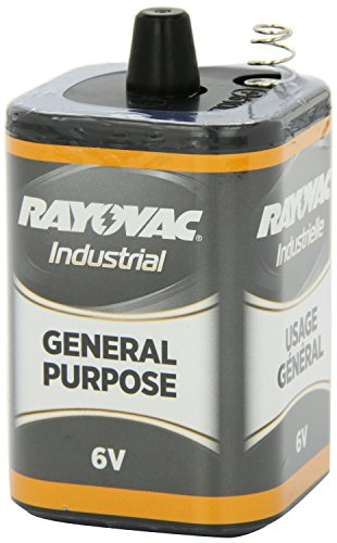 Rayovac 6 Volt Lantern Battery, 6V-GP