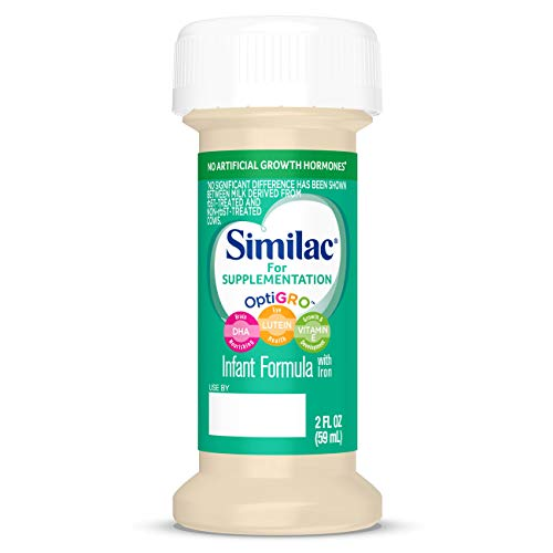 Similac For Supplementation Infant Formula with Iron, Ready-to-Feed Bottles, 2 Ounce, (48 ct) by Similac (Image #7)
