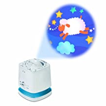 Munchkin Nursery Projector and Sound System Features 3 Image Discs and 10 Soothing Sounds PLUS Voice Activation