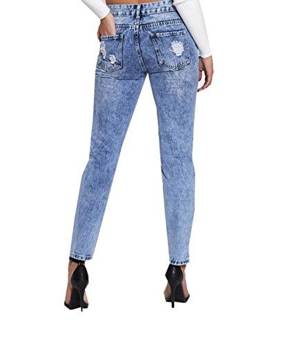 1 blue Q1510 Jeans Divadames Donna qRwHzxp