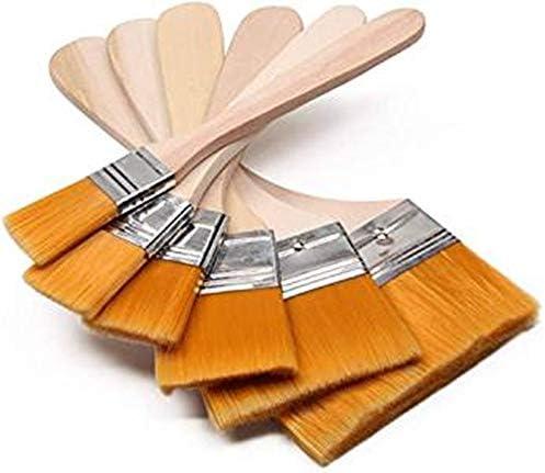 多用途刷毛 ペイント刷毛 はけ 木製 6サイズセット