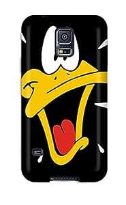 Perfect Design Daffy Duck Phone Case For Galaxy S5 Premium Tpu Case