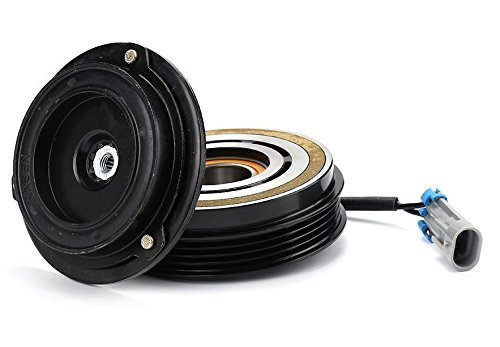Compressor Pulley (2001 Chevrolet Silverado 1500 8 CYL 5.3L 10S17F AC A/C Compressor Clutch Kit (PULLEY, BEARING, COIL, PLATE))