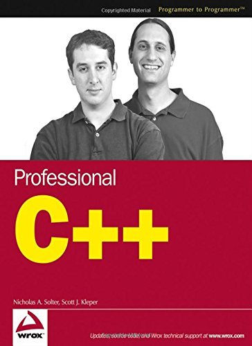 Professional C++ by Nicholas A. Solter (2005-01-21)