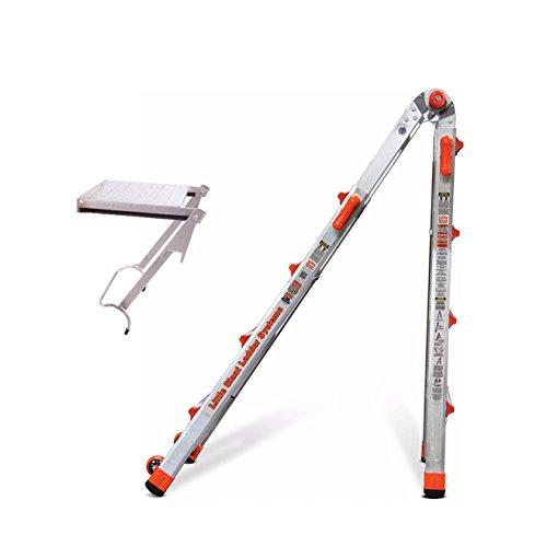 Little Giant Ladder Systems 22-Ft Aluminum Ladder w/375-LB-Rated Work (Aluminum Ladder System)