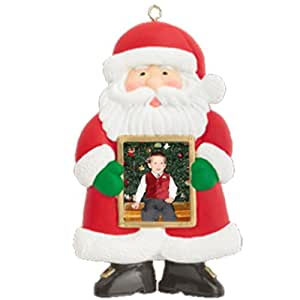 """Emerald Innovations Santa Style, 1.8"""" LCD Ornament with 16MB Internal Memory"""